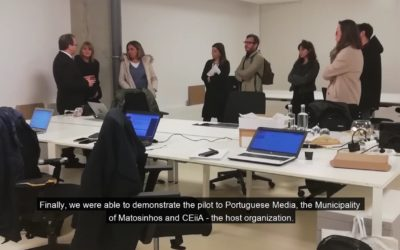 Video : The 2nd Pilot in Matosinhos